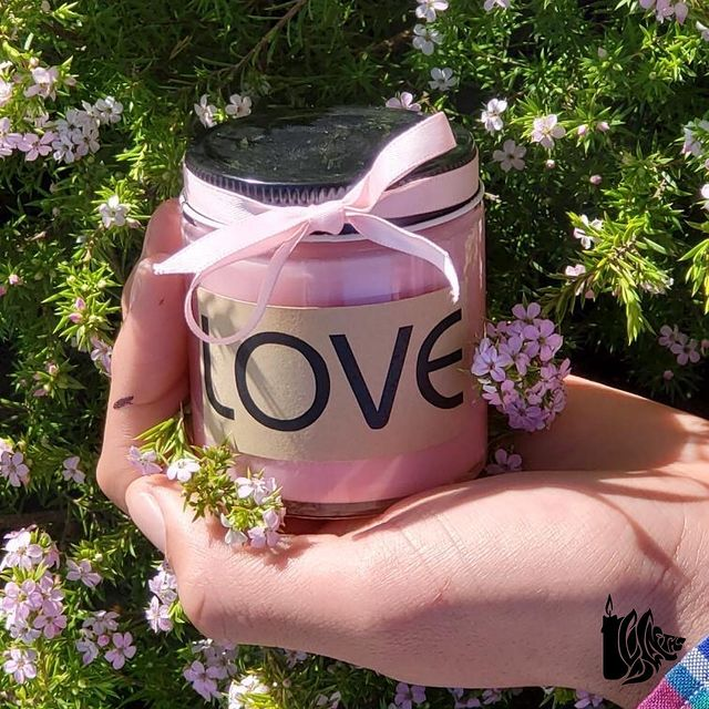 Breast Cancer Warrior Special Edition Candle